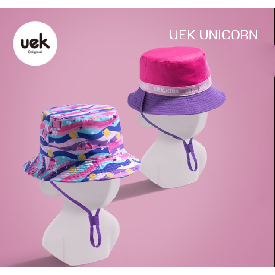 Uek leisure hat - unicorn purple/pink
