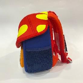 Kindergarten backpack mushroom - lion red (s)