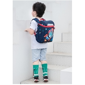 Uek kindergarten backpack - rocket dino (l)