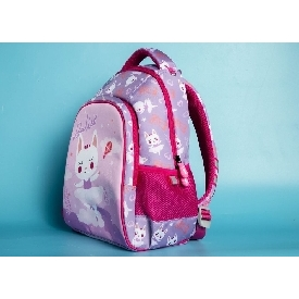 School backpack polyester - ballet purple (xl)