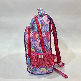 School backpack polyester - sweetheart purple/pink  (l)