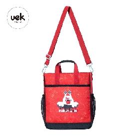 Uek กระเป๋าหิ้ว รุ่น wonderland - ภูติจิ๋ว สีแดง