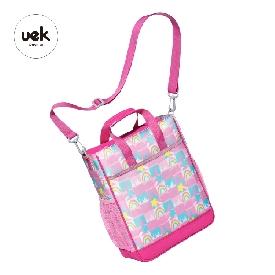 Uek กระเป๋าหิ้ว รุ่น dream - สายรุ้ง สีชมพู