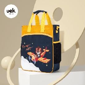 Uek กระเป๋าหิ้ว รุ่น ธรรมดา - นักบิน สีน้ำเงิน/ส้ม