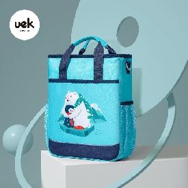 Uek กระเป๋าหิ้ว รุ่น dream start - หมีขั้วโลก สีฟ้า