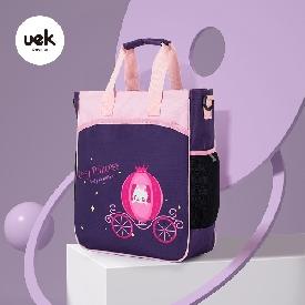 Uek กระเป๋าหิ้ว รุ่น ธรรมดา - รถเจ้าหญิง สีม่วง