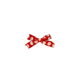 Medium rosie scarlet red headband