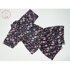 Jinbei - black floral