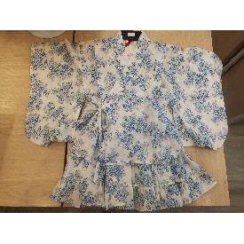 Kimono - blue floral