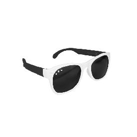 แว่นกันแดดเด็ก ro.sham.bo รุ่น baby สำหรับ 0 - 3 ขวบ สีขาวขาดำ (free willy)