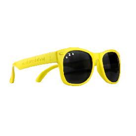 แว่นกันแดดเด็ก ro.sham.bo รุ่น baby สำหรับ 0 - 3 ขวบ สีเหลือง (simpson)
