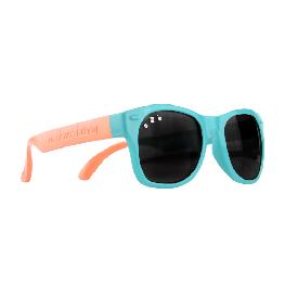 แว่นกันแดดเด็ก ro.sham.bo รุ่น baby สำหรับ 0 - 3 ขวบ สีฟ้าขาส้ม (fraggle rock)
