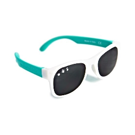 Sunglasses ro.sham.bo Adult shade White/Teal XL (90210)