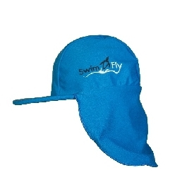 Flap hat - blue