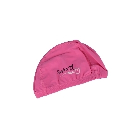 หมวกว่ายน้ำสำหรับเด็ก สีชมพู