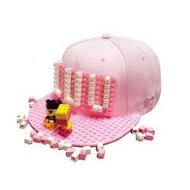 หมวก brick brick gear สีชมพู