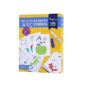 Write & wipe Activity - ABC Flash Cards
