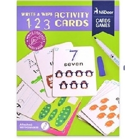 Write & wipe Activity - 123 Flash Cards