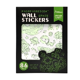 Fluorescent Wall Stickers - Space