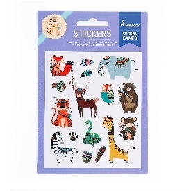 Colourful Stickers - Animal
