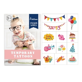 Tattoo Stickers - Birthday