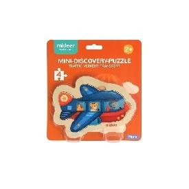 mini discovery puzzle-plane