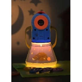 Storybook projector torch and nightlight