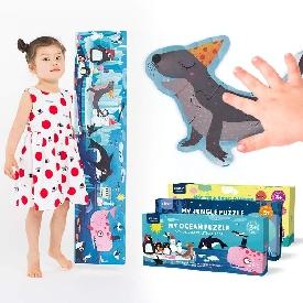จิ๊กซอว์ยักษ์ลายสัตว์ทะเล 28 ชิ้น