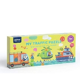 My traffic puzzle 28pcs
