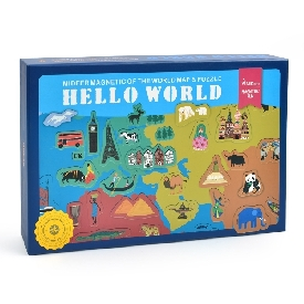 Magnetic Puzzle - Hello World