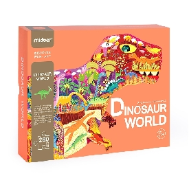 Mideer dinosaur world puzzles 280 pcs