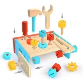 Mideer ของเล่นไม้ ชุดเครื่องมือช่าง