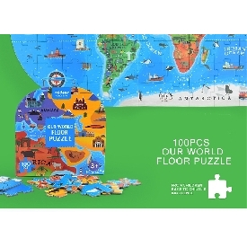 Our World Floor Puzzle 100 pcs