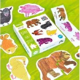 My first puzzle 10-in-a-box by eric carle