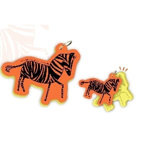 MOTIF WORD CARDS - Zebra
