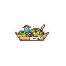 สมุดจดคำศัพท์ - floating market
