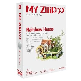 จิ๊กซอว์บ้านสามมิติ  rainbow house