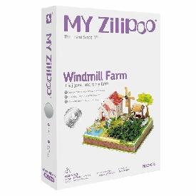 จิ๊กซอว์บ้านสามมิติ  windmill farm