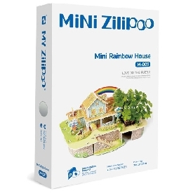 Mini zilipoo rainbow house