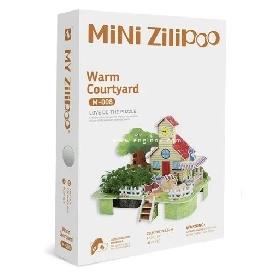 จิ๊กซอว์บ้านสามมิติ  mini warm courtyard