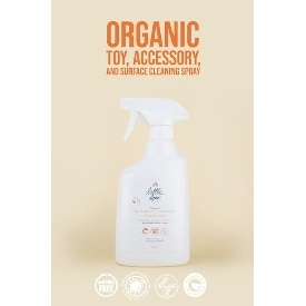 Organic toy, accessory and surface cleaning spray 500 ml.