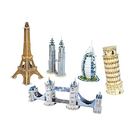 3d puzzle - mini architecture series 1