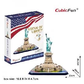 3d puzzle - statue of liberty (u.s.a)