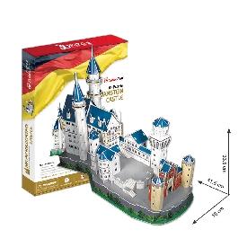 3d puzzle - neuschwanstein castle