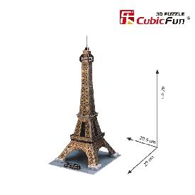 จิ๊กซอว์ 3 มิติ: หอไอเฟล ประเทศฝรั่งเศส