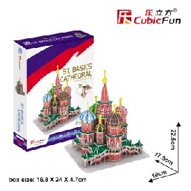 3D Puzzle - St.Basil's Cathedral