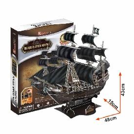 3D Puzzle - Queen Anne's Revenge