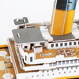 จิ๊กซอว์ 3 มิติ: เรือไททานิคขนาดใหญ่