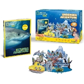 3d puzzle - undersea adventure
