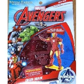 Marvel iron man (mark iv) - metal 3d puzzle